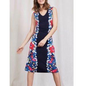 Boden Cosima Jersey Knit Floral Midi Dress 12